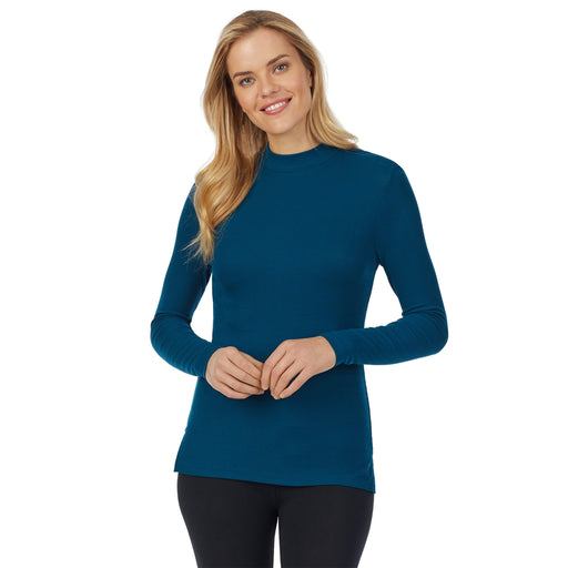 "Peacock Blue  ;Model is wearing size S. She is 5'10"", Bust 34"", Waist 26"
