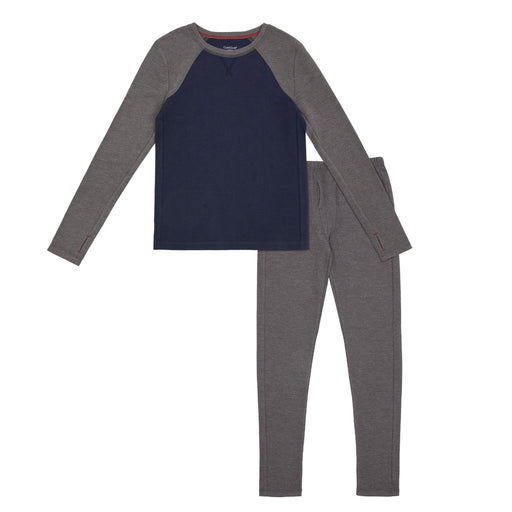Boys Thermal 2 pc. Raglan Sleeve Crew & Pant Set