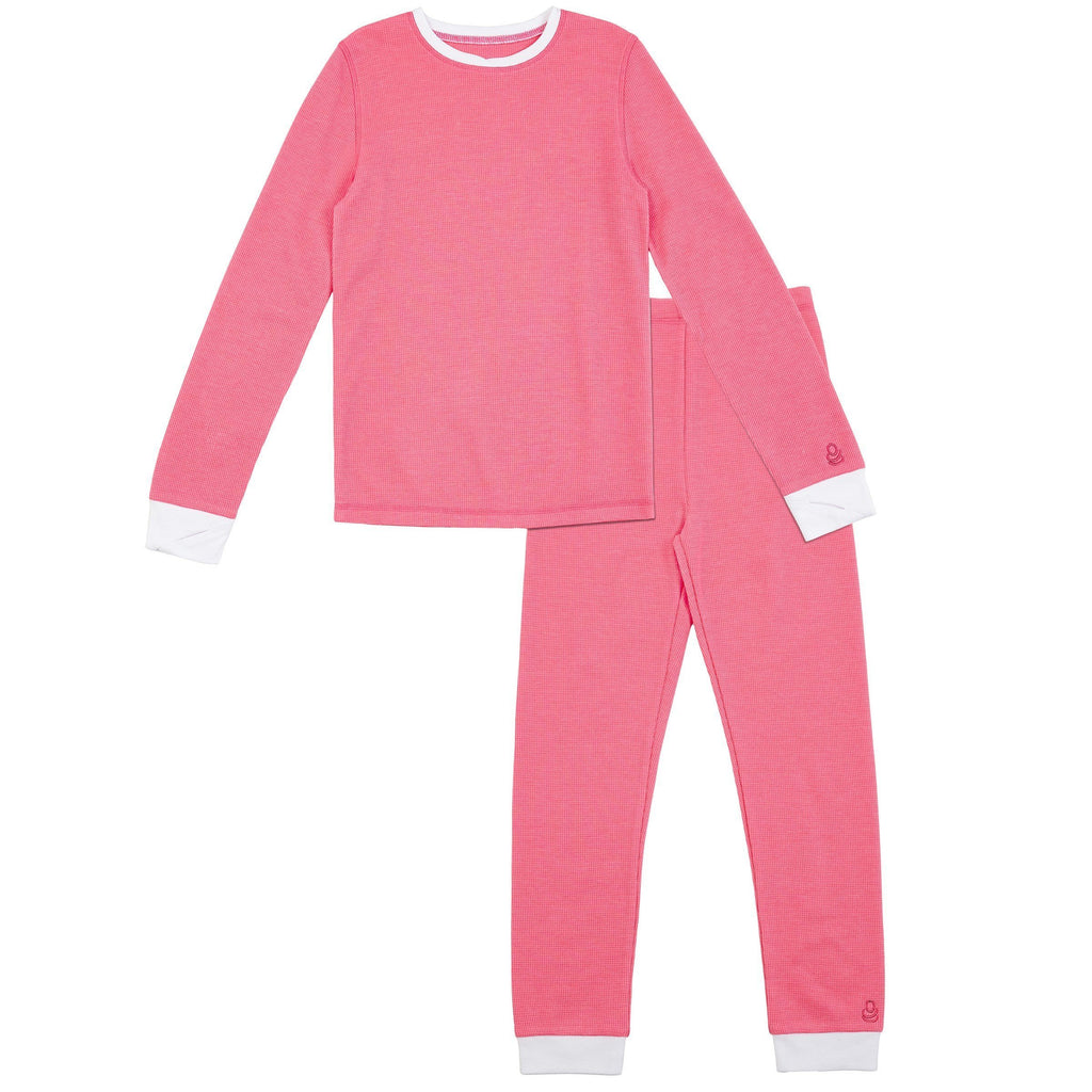 Girls Thermal 2 pc. Long Sleeve Crew & Legging Set