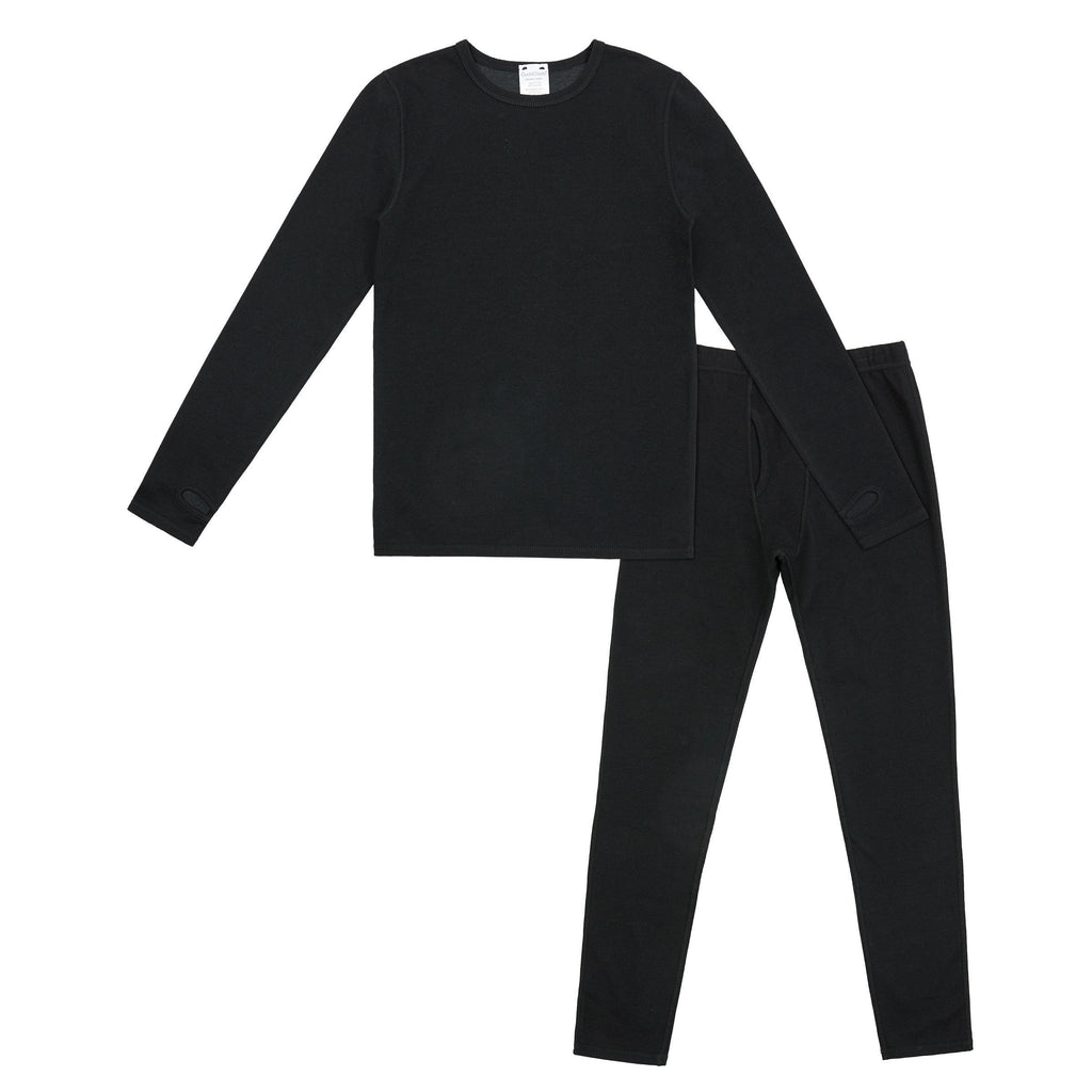 Boys Double Jersey 2 pc. Long Sleeve Crew & Pant Set