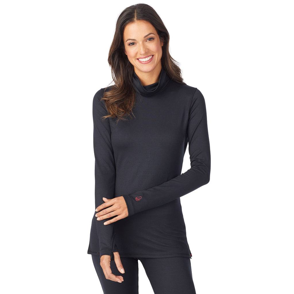 Far Infrared Enhance Long Sleeve Funnel Neck