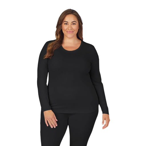 Womens Underscrub Crew Neck Top PLUS