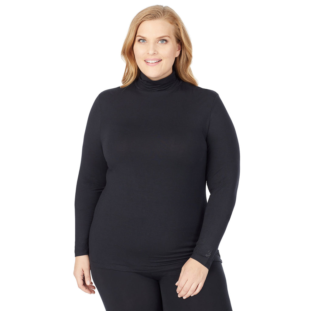 Softwear With Stretch Long Sleeve Turtleneck PLUS