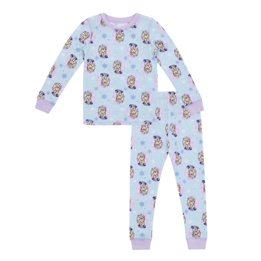 Disney's Frozen Toddler Girls Thermal 2 pc. Long Sleeve Crew & Legging Set