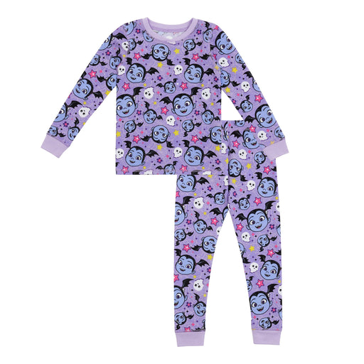 Disney's Vampirina Toddler Girls Thermal 2 pc. Long Sleeve Crew & Legging Set