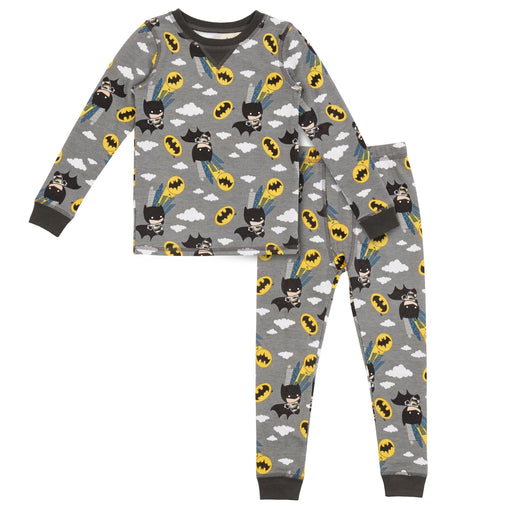 Batman Toddler Boys Thermal 2 pc. Long Sleeve Crew & Pant Set