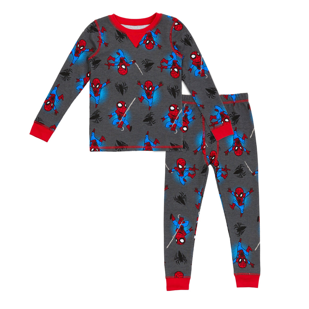 Marvel's Spiderman Boys Thermal 2 pc. Long Sleeve Crew & Pant Set