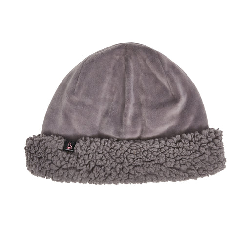 Velour Hat with Sherpa Cuff