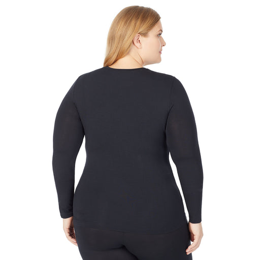 Black;Model is wearing size 1x. She is 5'9
