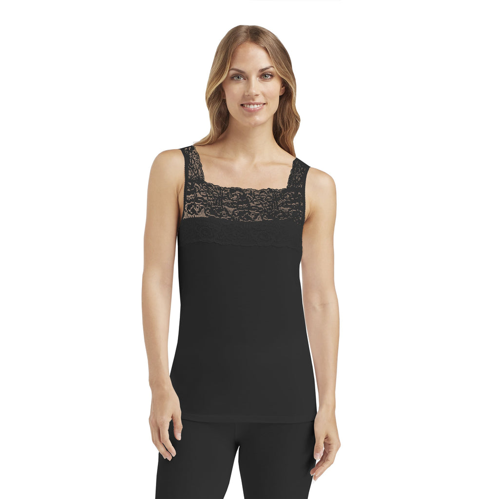 SofTech Stretch Lace Detail Cami