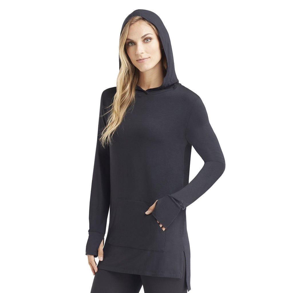 Softwear with Stretch Long Sleeve Hoodie Tunic - Cuddl Duds cf9ddc65f