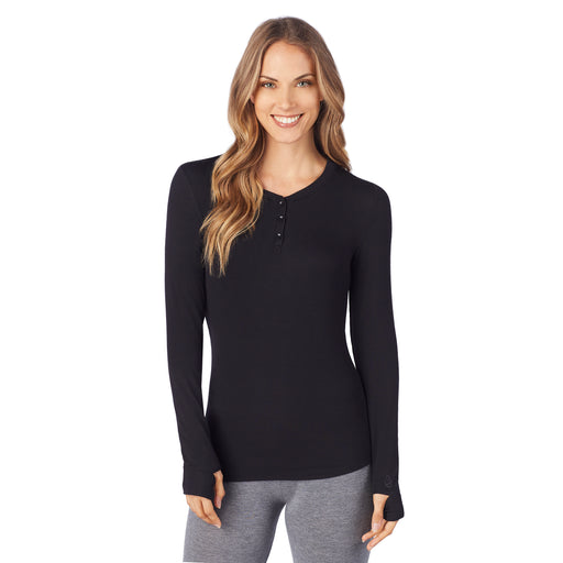 be10508c6 Softwear with Stretch - Ribbed Long Sleeve Henley. Regular price $32.00  $32.00. Charcoal Heather. Charcoal Heather. Black