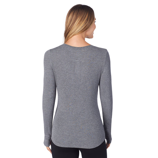 e9d95e335 Softwear with Stretch - Ribbed Long Sleeve Henley. Regular price $32.00  $32.00. Charcoal Heather. Charcoal Heather