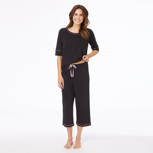 Cuddl Smart Women's Short Sleeve Pajama Set