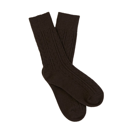 Chunky Cable Crew Socks