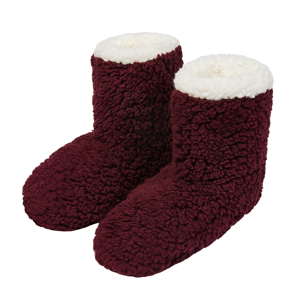 Cozy Sherpa Slipper Boot