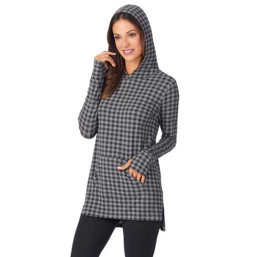 Softwear With Stretch Long Sleeve Hoodie Tunic