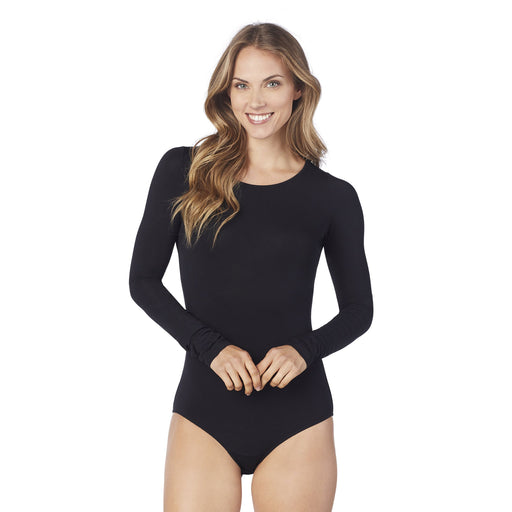 Softwear With Stretch Long Sleeve Bodysuit