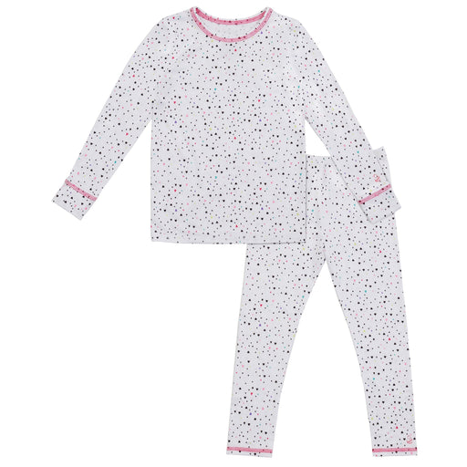 Toddler Girls Comfortech Stretch Poly 2 pc. Crew Set