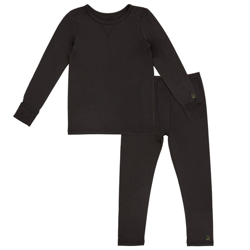 Toddler Boys Comfortech Stretch Poly 2 pc. Long Sleeve Crew & Pant Set