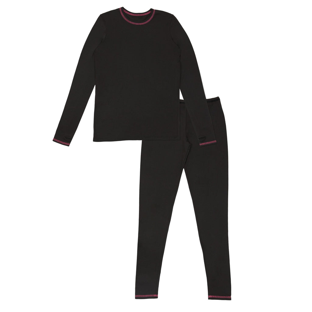 Girls Comfortech Stretch Poly 2 pc. Crew Set