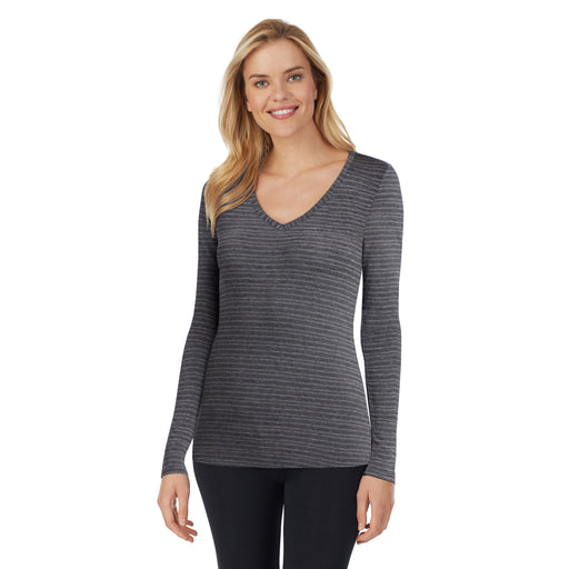 Softwear With Stretch Long Sleeve V-Neck