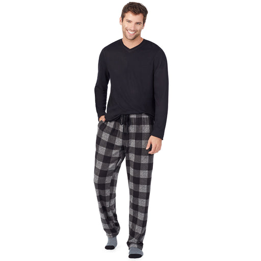 Sleepwear Cabin Fleece PJ Set with Sock