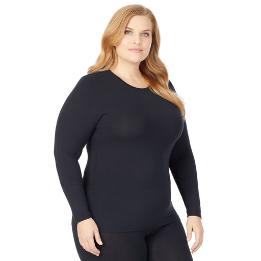 Softwear With Stretch Long Sleeve Crew PLUS