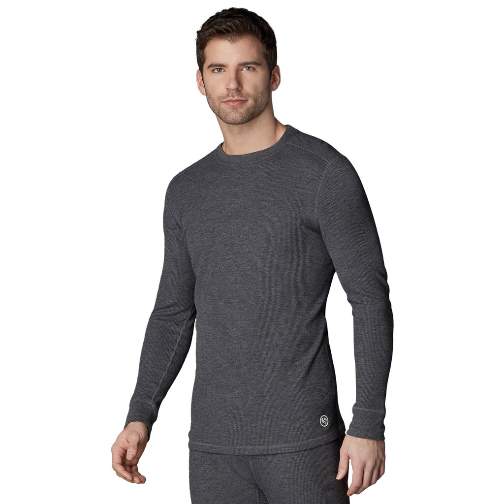 Waffle Thermal Long Sleeve Crew BIG