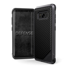 Capa Samsung Galaxy S8 Plus X-Doria Defense Lux Fibra de Carbono