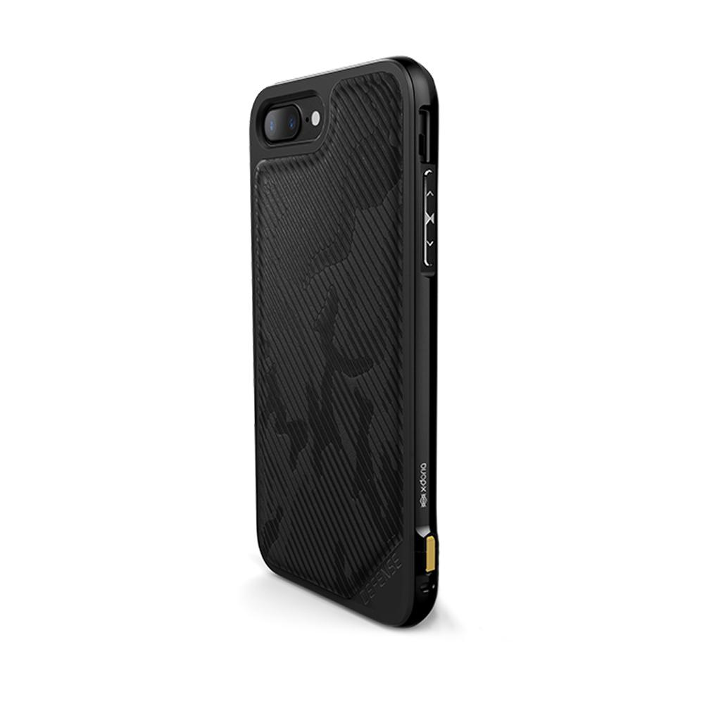 Capa para iphone 7/8 Plus Original X-Doria Defense Lux Camuflagem