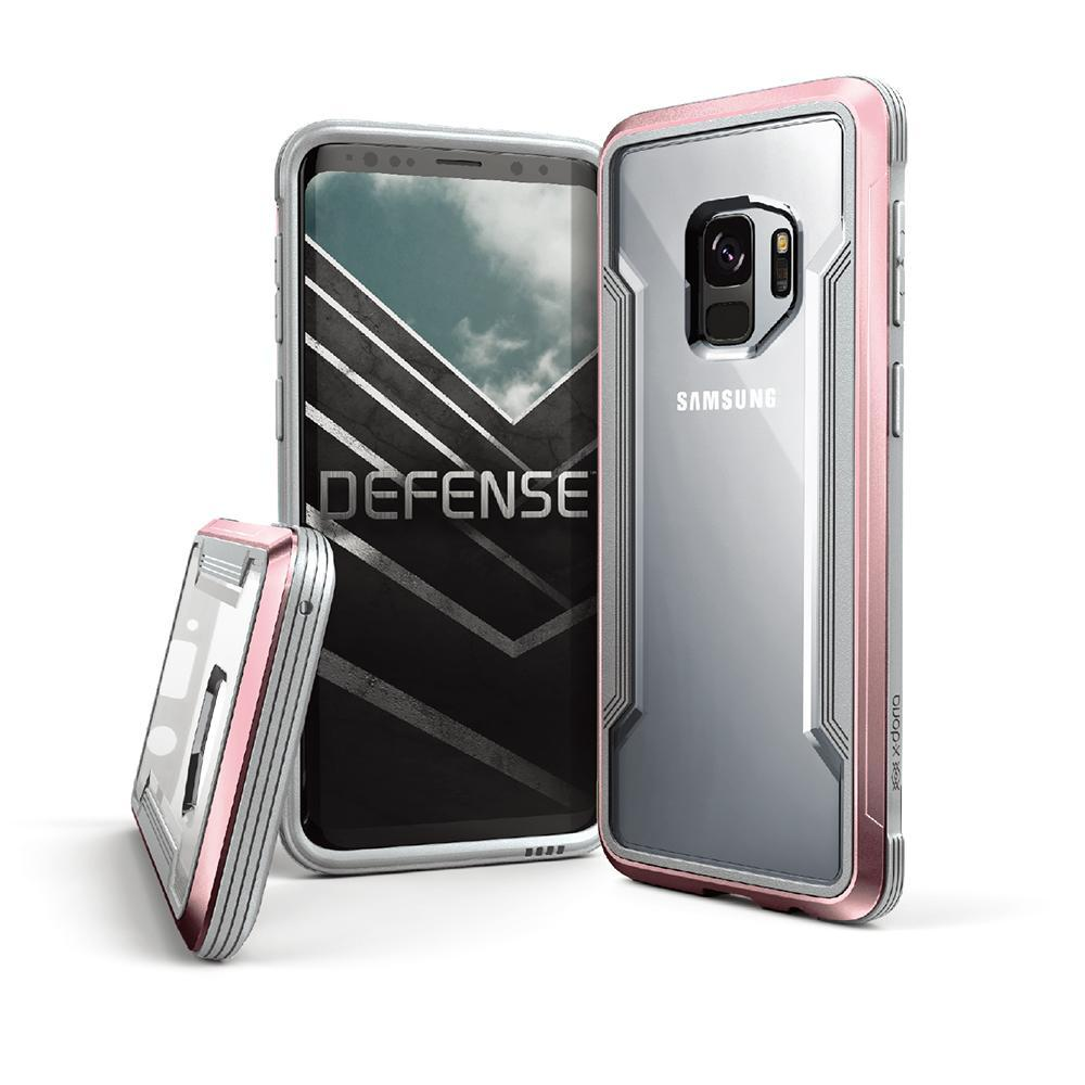 Capa para Galaxy S9 X-Doria Original Defense Shield Rosa