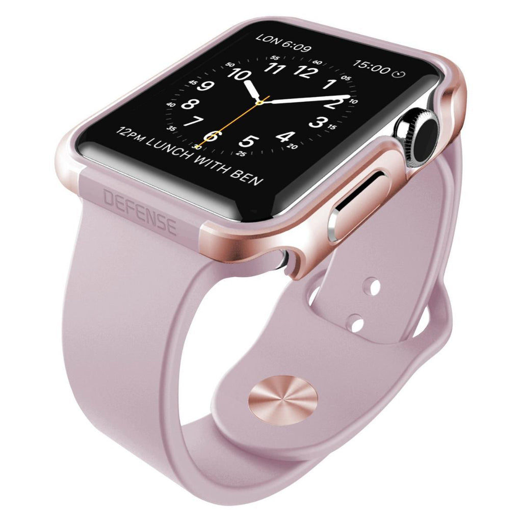 Capa Bumper Apple Watch 42mm Defense Edge X-Doria Rose Gold