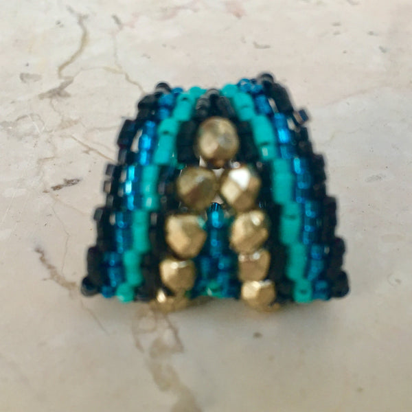Bague Taquile turquoise