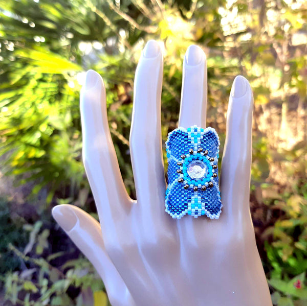 Bague LILOO- Pattern