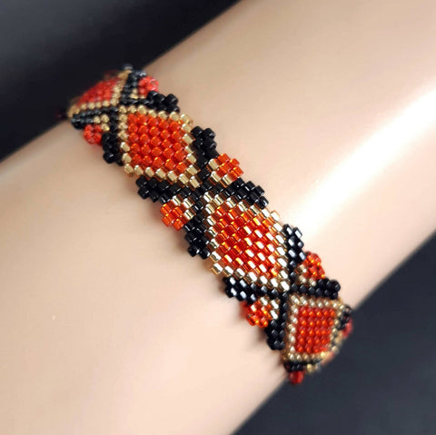 Bracelet modulaire Zomin Orange