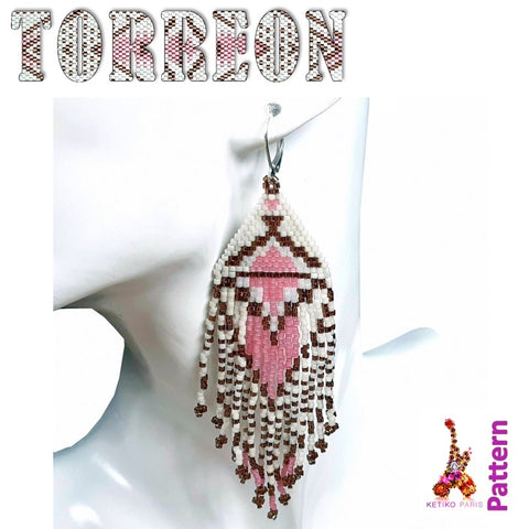 Boucles d'oreille Torreon - Pattern