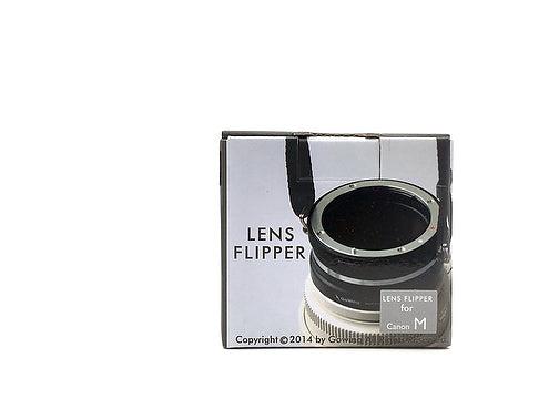 The Lens Flipper for Canon Mirrorless mount lenses - The Lens Flipper