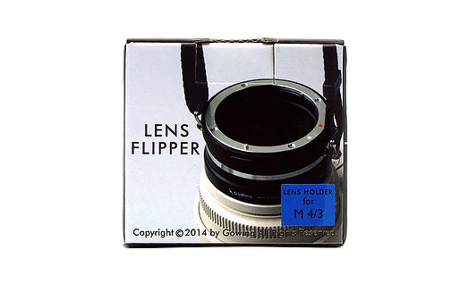 The Lens Flipper for Micro 4/3 mount lenses - The Lens Flipper