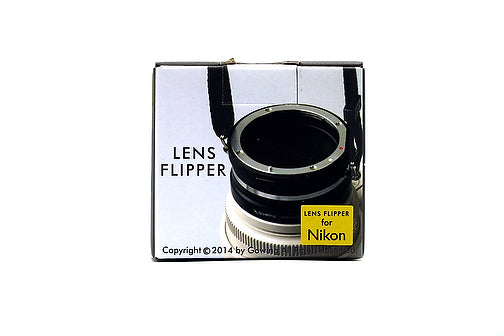 The Lens Flipper for Nikon mount lenses - The Lens Flipper