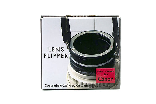 The Lens Flipper for Canon mount lenses - The Lens Flipper