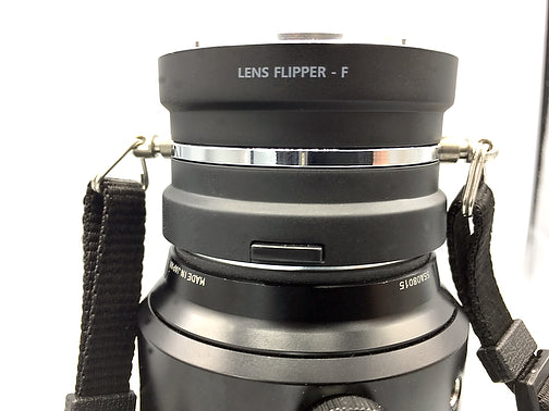 The Lens Flipper for Fuji X mount lenses - The Lens Flipper