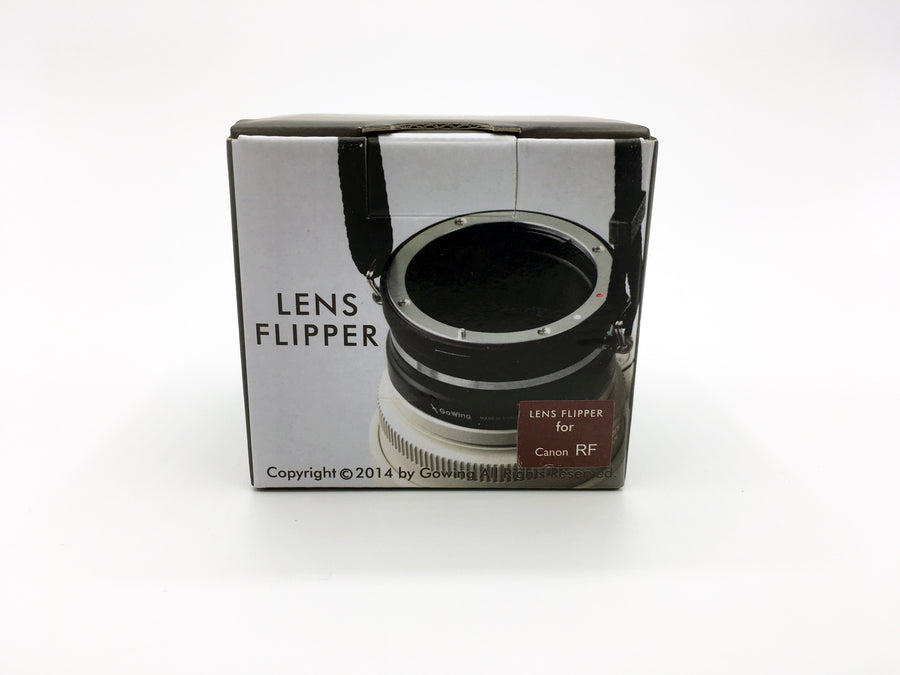 The Lens Flipper for Canon RF mounts - The Lens Flipper
