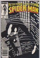 The Spectacular Spiderman #101 VF 9.0 - The Dragon's Tail