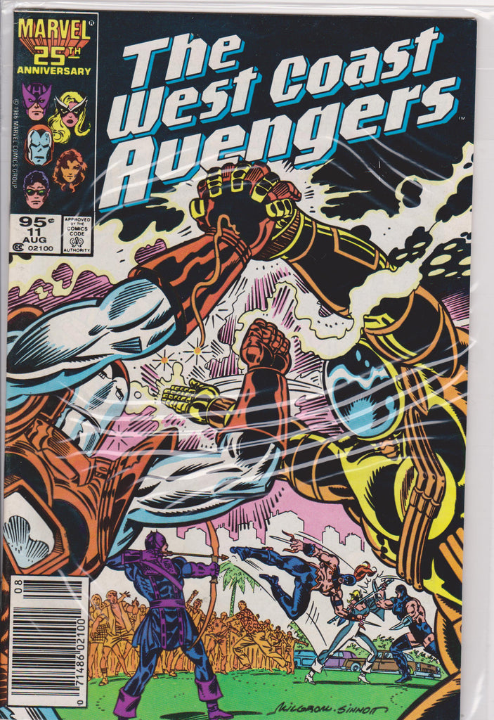 The West Coast Avengers #11 NM 9.6 - The Dragon's Tail