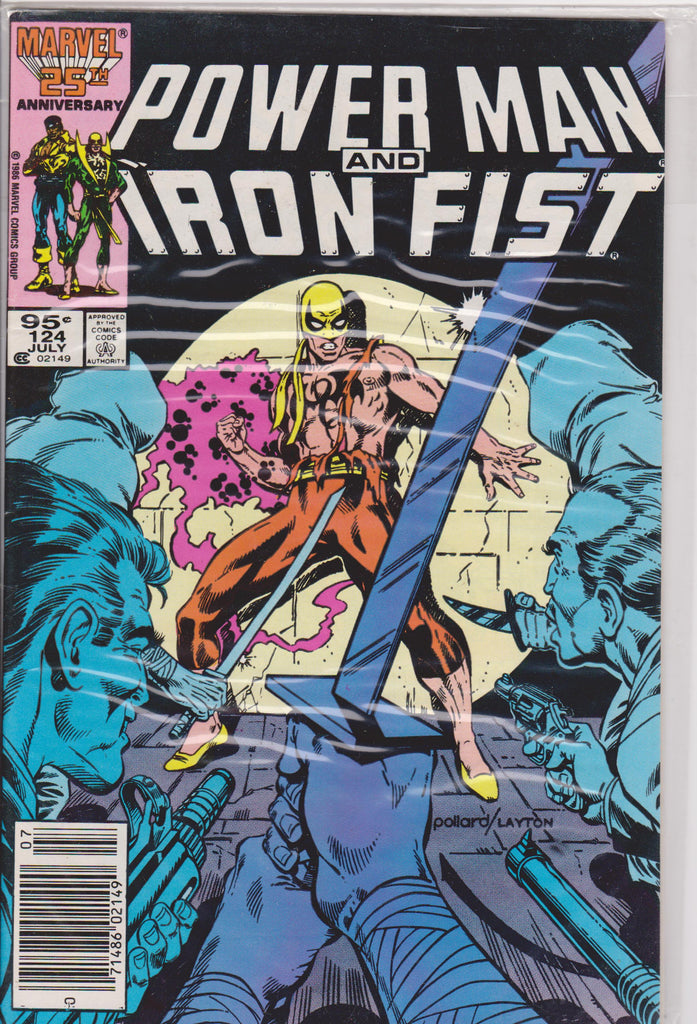 Powerman and Iron Fist #124 NM 9.0 - The Dragon's Tail