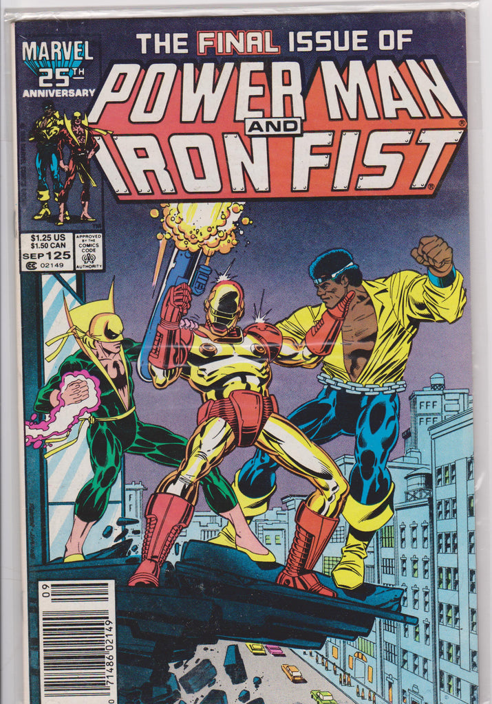 Powerman and Iron Fist #125 NM 9.4 - The Dragon's Tail