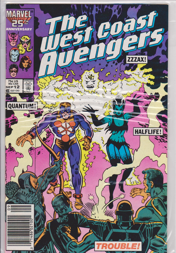 The West Coast Avengers #12 NM 9.6 - The Dragon's Tail