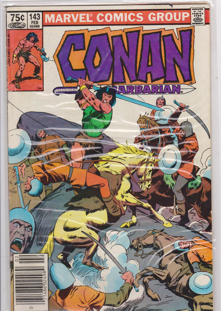 Conan the Barbarian #143 F 4.0 - The Dragon's Tail