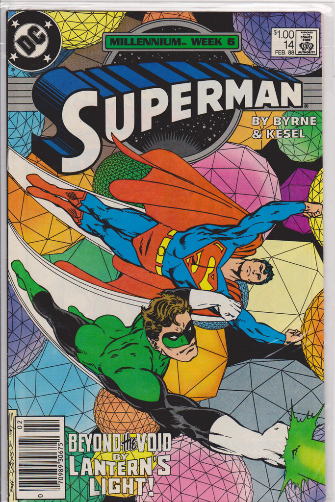 Superman #14 NM 9.6 - The Dragon's Tail